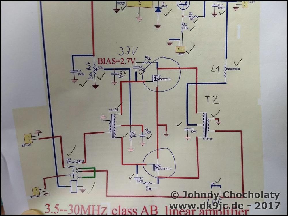 DIY Kits 70W SSB linear HF Power Amplifier FT-817 KX2 KX3 ... Kx Schematic on