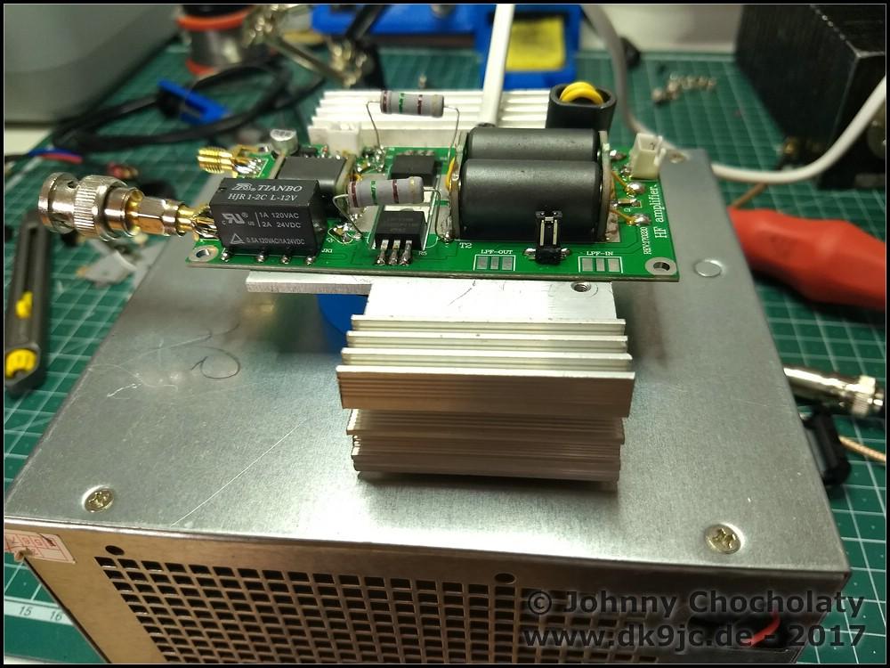 DIY Kits 70W SSB linear HF Power Amplifier FT-817 KX2 KX3 | DK9JC de