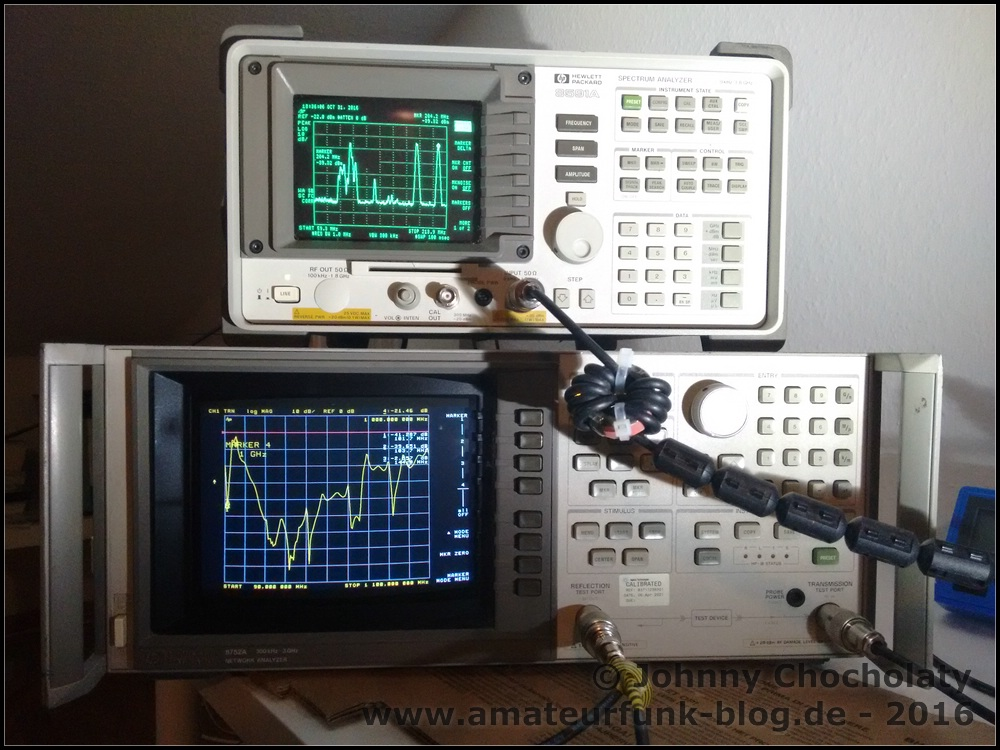 The test equipment