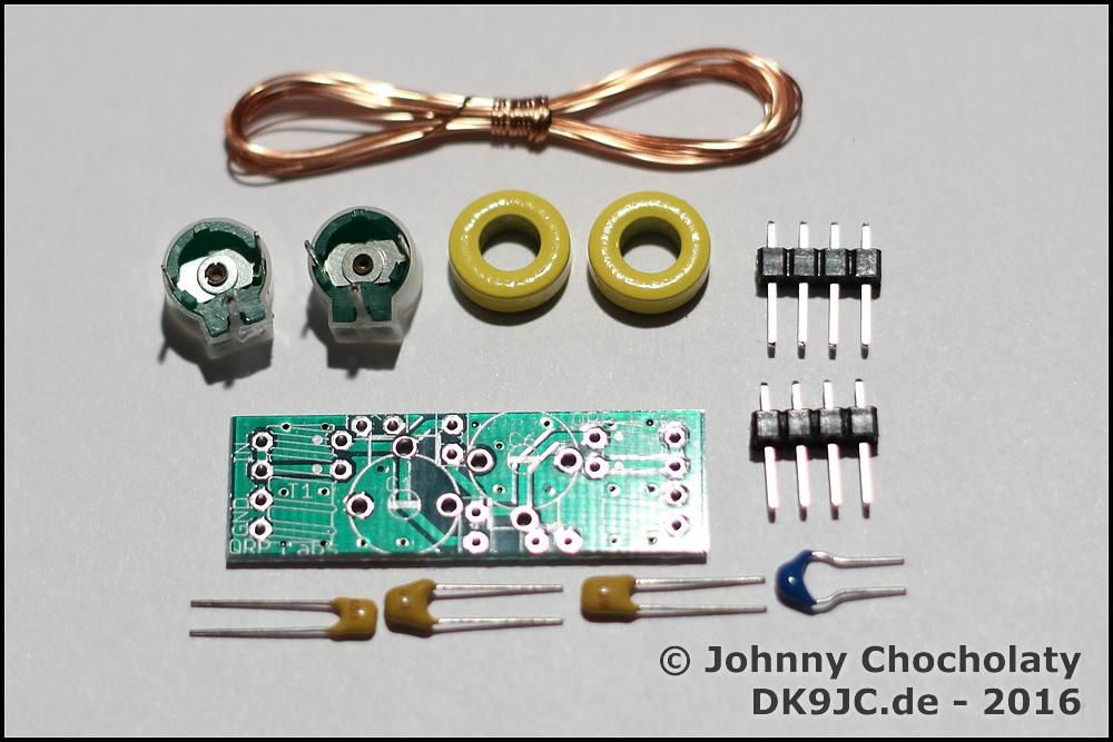 Raspberry Pi 10mW WSRP beacon and 20m QRP bandpass filter | DK9JC de