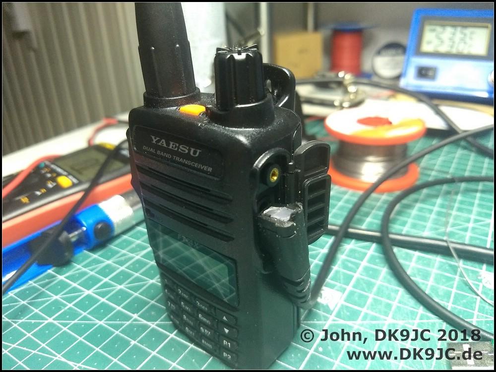 Yaesu FT-65 FT-25 FT-4XE FT-4VR DIY Programming Cable SCU-35 | DK9JC