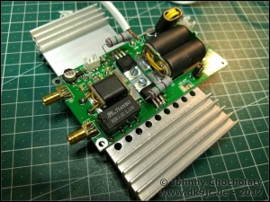 DIY Kits 70W SSB linear HF Power Amplifier FT-817 KX2 KX3 | DK9JC de