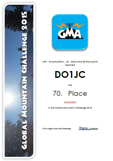 DO1JC GMC 2015
